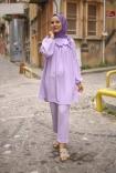 Aerobin Suit - Light Lilac