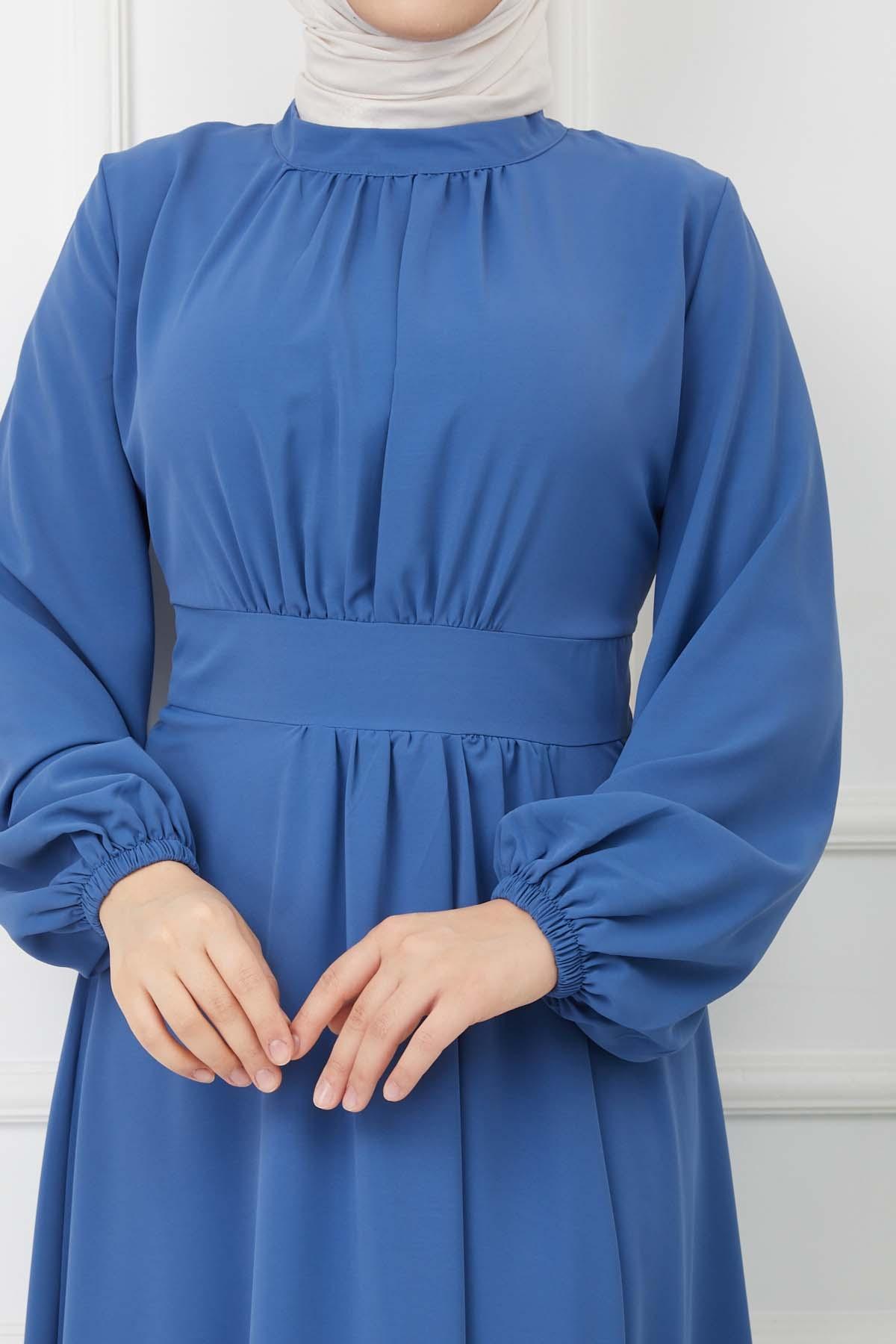Şarmi Elbise - Mavi