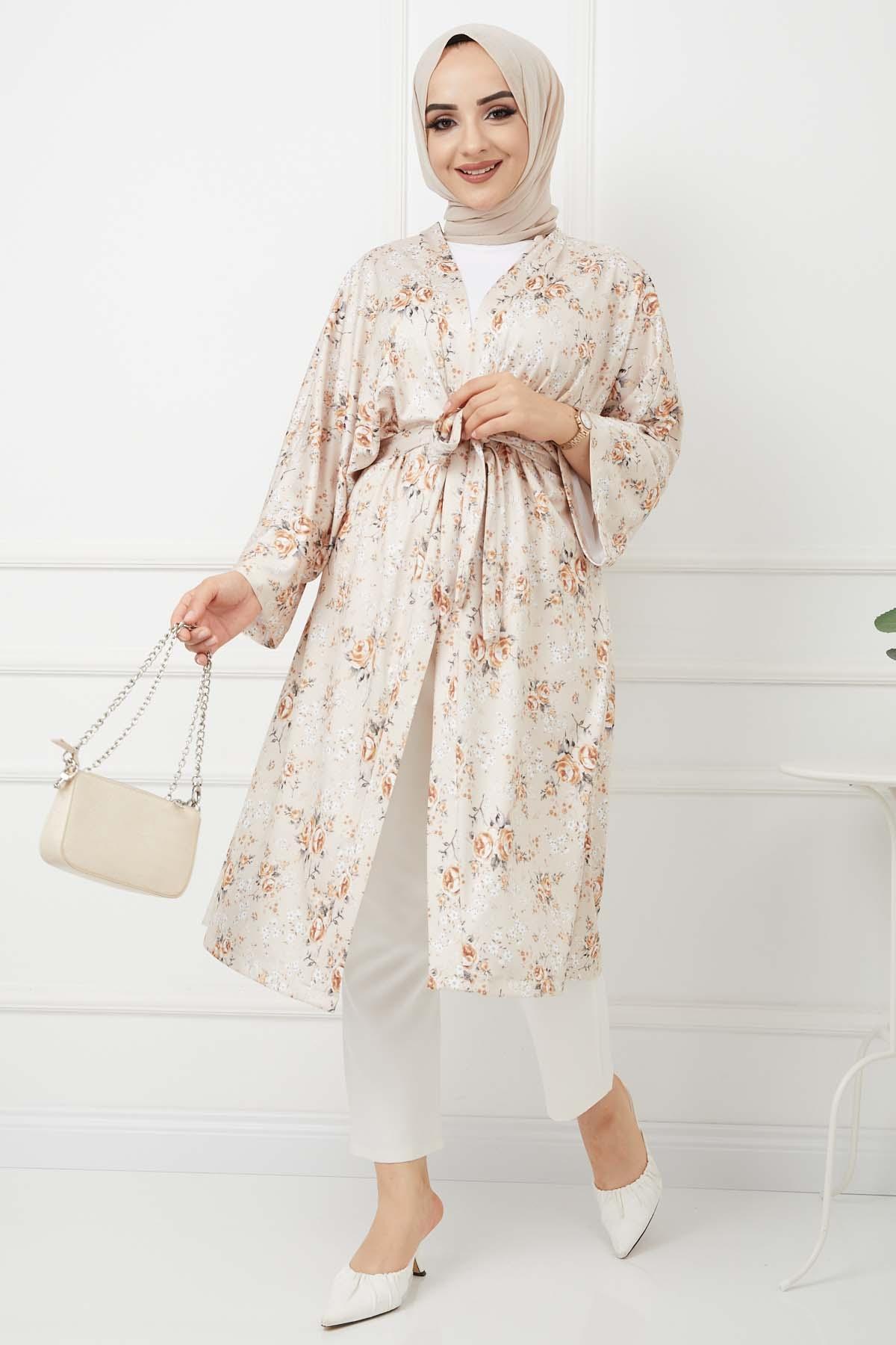 Kimono Kap - Bej