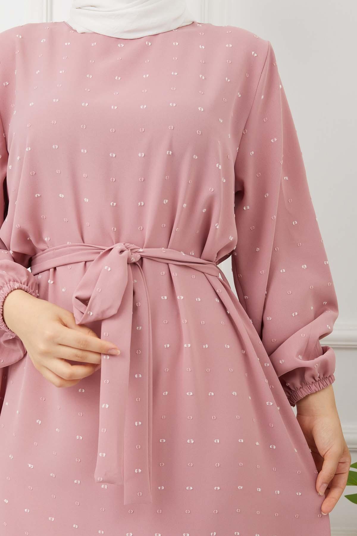 Yıldız Elbise - Gül