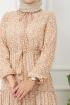 Nur Elbise 4609 - Bej