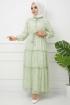 Nur Elbise 4609 - Yeşil