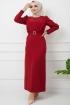 Kristal Elbise - Kırmızı